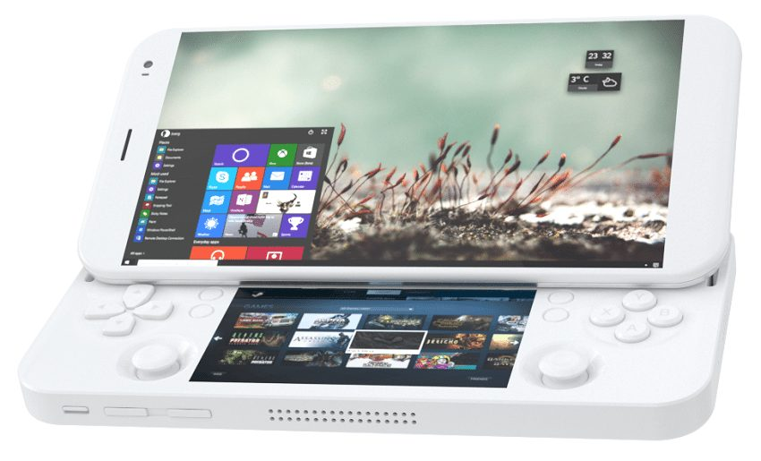 PGS – the first hybrid of a smartphone, portable game console, and mini PC ever created in the world, which can run almost all existing PC games