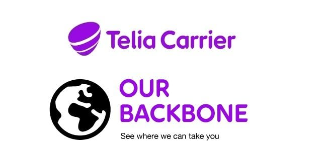 We are very pleased to have Telia Carrier, one of the world's leading network providers, and their services featured in our facility in Berlin.
