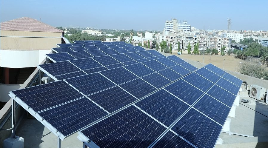 Staying committed to conserving energy for a better tomorrow, Pakistan's premium technology institution, Usman Institute of Technology moved to solar energy