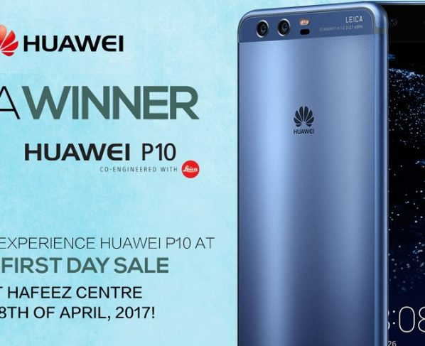 Huawei has made special arrangements for the 'First Sale experience at Hafeez Centre in Lahore on 8th of April from 3:00 PM onwards, to provide an exciting