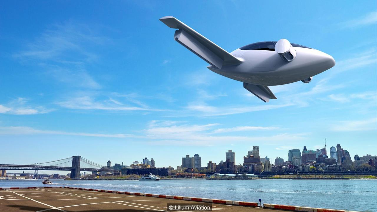 Flying in the air is dreamed in every era. And this dream can be achieved very easily by Lilium jet, the world's first all-electric VTOL jet.