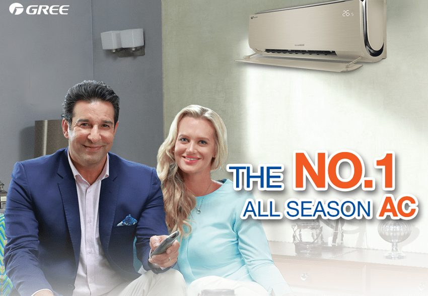 This is for the first time that Mrs. Waseem Akram which is an Australian Born, named Shaniera Akram has arrived for any commercial in Pakistan.
