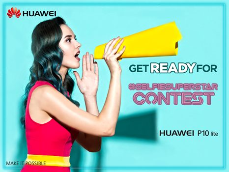 In the wake of Huawei's newly launched Selfie-Superstar - the P10 Lite, Huawei Pakistan is carrying out a 4 week long digital competition (Get Ready for