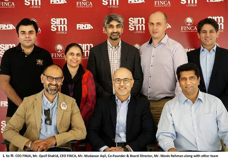 FINCA collaborates with FINJA to launch SIMSIM MOBILE WALLET