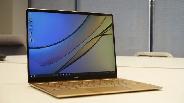You can choose any of its gray or gold models. Its slim aluminum design is notable. Due to windows 10 tablet it looks like an iPad. The Matebook E has