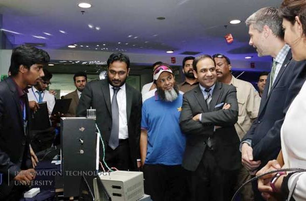 The Information Technology University (ITU) Punjab students have developed 100 Robots so far all the way through innovation to hold the everyday life