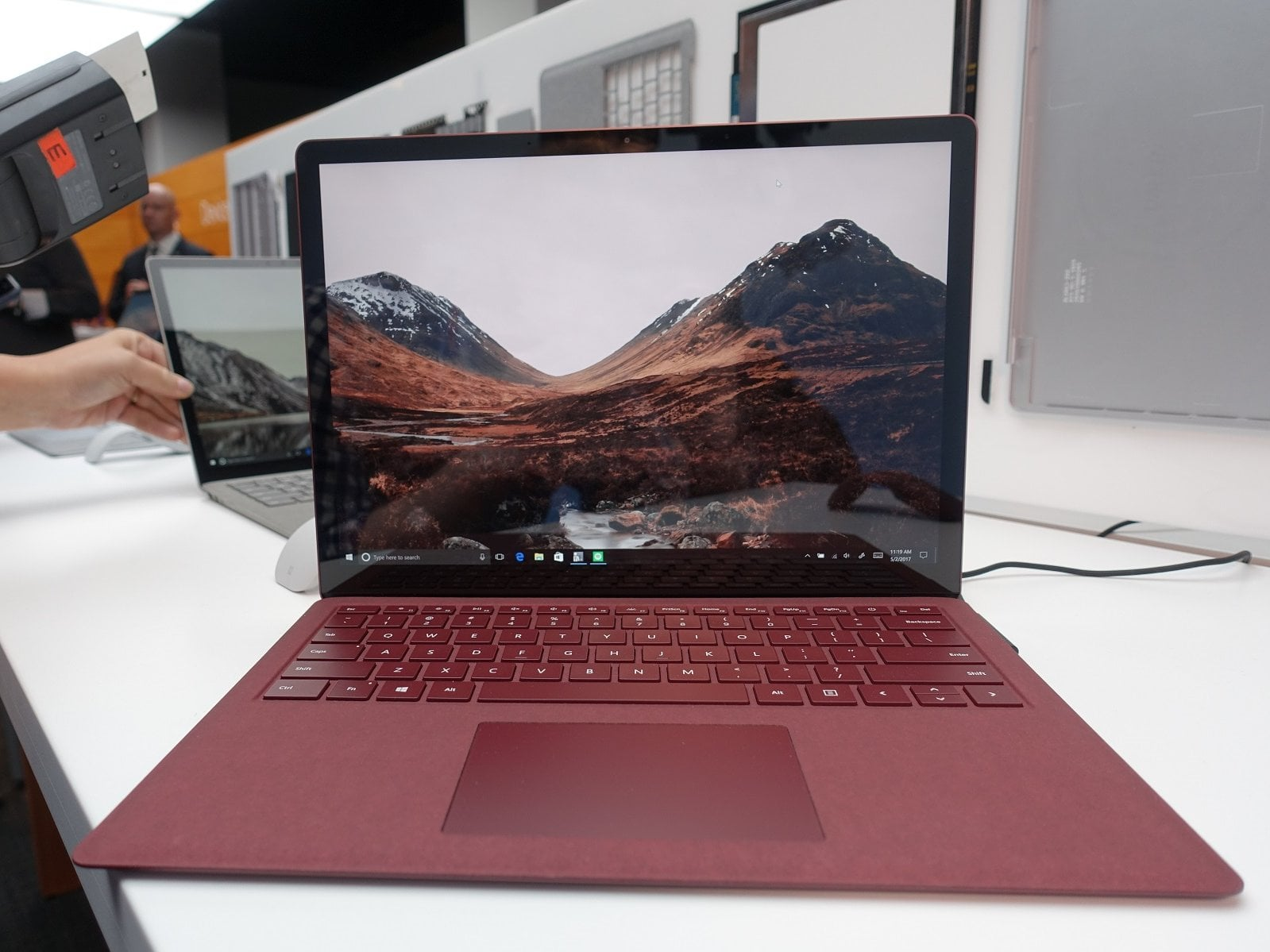 Following up on the declaration of the Windows 10 S, Microsoft revealed an all new-fangled Surface Laptop to go along with it. It's hard to notify what
