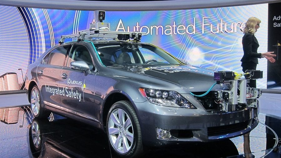 Toyota is a Japanese auto-manufacturing giant, its first drone autonomous car had been unveiled in 2015, which uses sharp sensors to navigate through