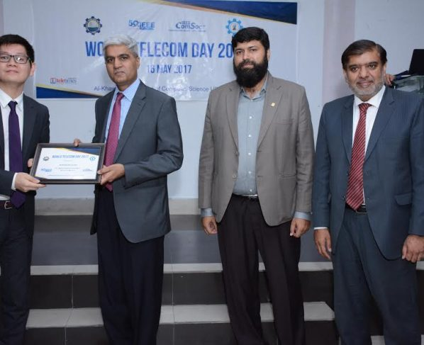 IEEE Communication Society Lahore Section and KICS-UET organized World Telecommunication Day 2017 in May 2017. The event was held at Seminar Hall in University