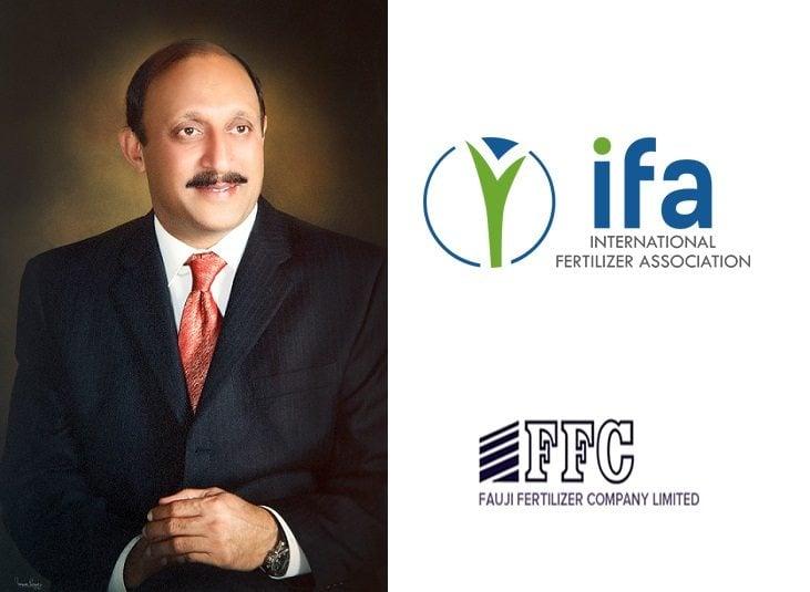 Chief Executive & Managing Director Fauji Fertilizer Company (FFC) Lt Gen Shafqaat Ahmed, HI(M) (Retd) as a director of the prestigious IFA, consecutively
