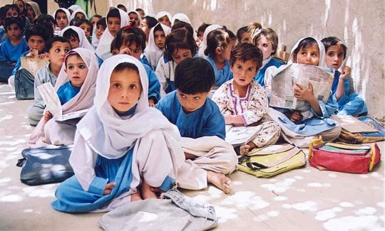 In Sindh, 55 percent children aged 5-16 are currently out of school. The supreme land of the law, the Constitution of Pakistan, preserves the right to free and mandatory