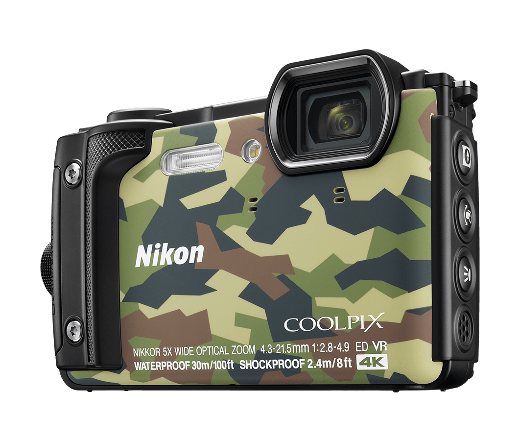 Nikon has redesigned the grip to be comfier and easier to hold. It looks sharp with a bright orange finis h.At the back, there is a 3-inch LCD with