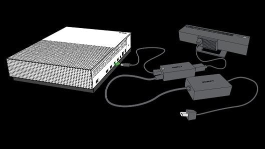 Find out how you can connect the Xbox One kinect with the Xbox One S