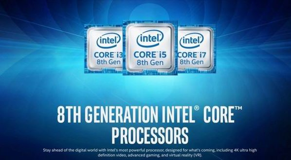 Intel just launched its 8th generation of U-Series Core Processors
