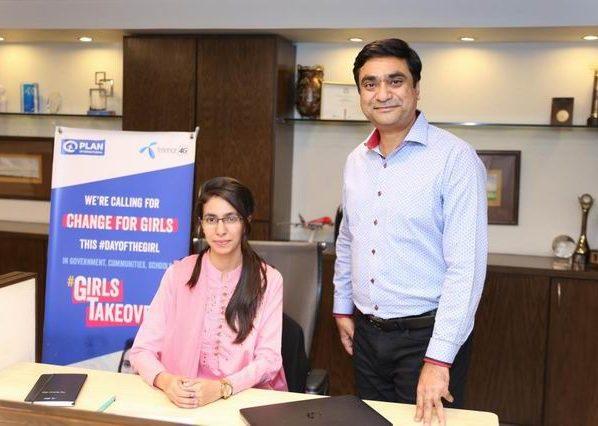 Telenor Pakistan reiterates its commitment towards diversity through symbolic handover of CEO position