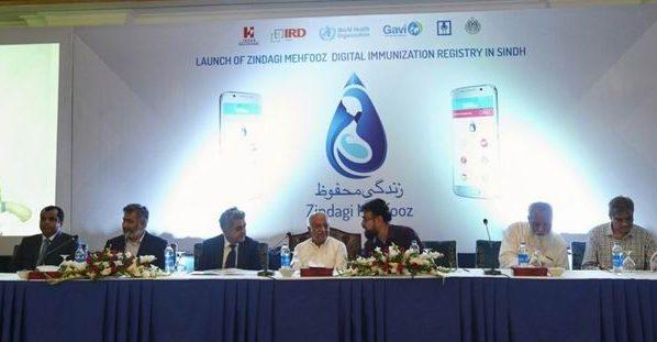 Zindagi Mehfooz (Safe Life) Digital Immunization Registry Launched