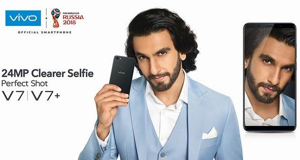 Vivo V7+ with 24MP Front Camera Gets Record Breaking Sales For First Week