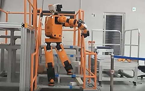 Honda unveils a prototype of its disaster recovery robot