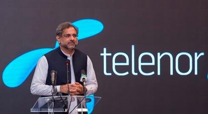 Prime Minister Shahid Khaqan Abbasi inaugurates new Telenor Pakistan Campus '345'