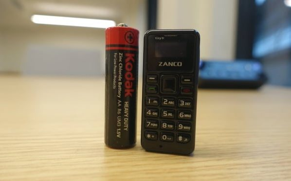 Smaller than a thumb and lighter than a coin Zanco tiny t1 is smallest phone in the world