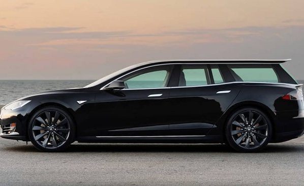 How do you feel with shooting brakes of Tesla's first Model S station wagon?