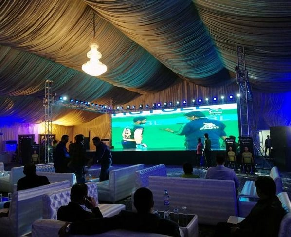 Royal Palm Country & Golf Club recently Hosted Live-screening of PSL 2018