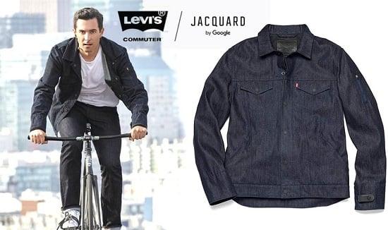 "Google helps Levi's make a $350 ""smart jacket"""