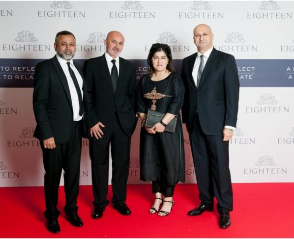 Eighteen Hosts Its International Launch in London, at the Dorchester
