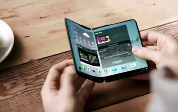 World only foldable phone to hit the stands soon….