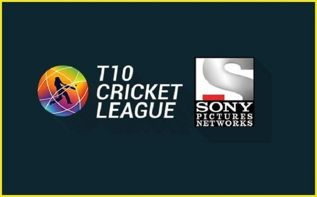 T10 League announce Sony Pictures Networks India as their broadcast partners for three years