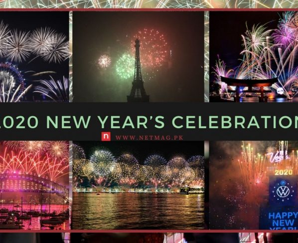 2020 New Year's celebration