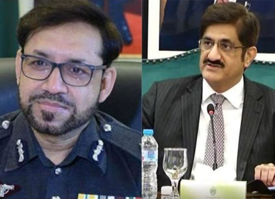 IGP and CM Sindh