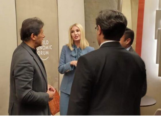 Ivanka Trump looks thrilled to meet with Imran Khan, new pictures surfaced