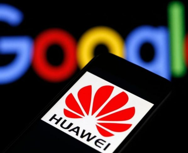 Google with Huawei