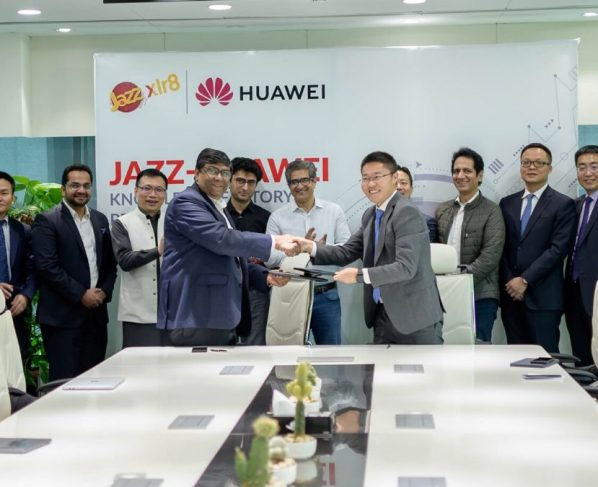 Huawei partners with Jazz