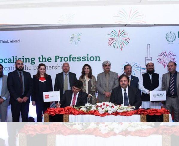ICMA Pakistan and ACCA partnership