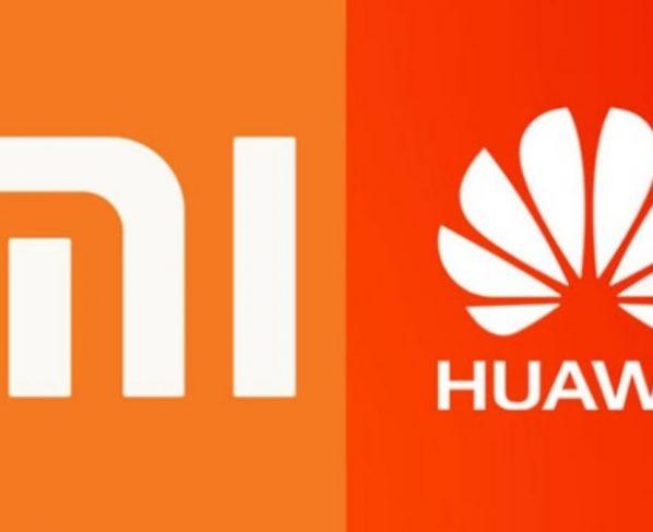 Xiaomi and Huawei
