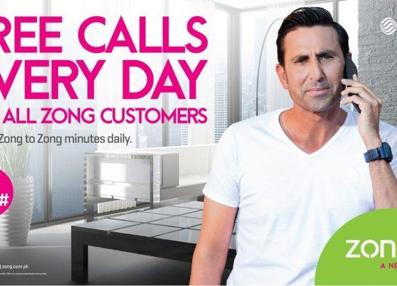 Zong 4G FREE Calls