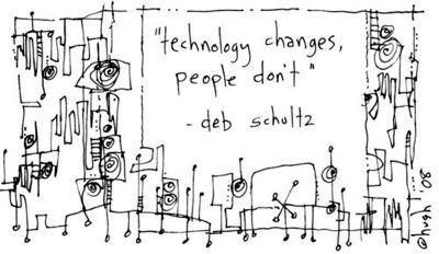 Technologien ändern sich, Leute nicht