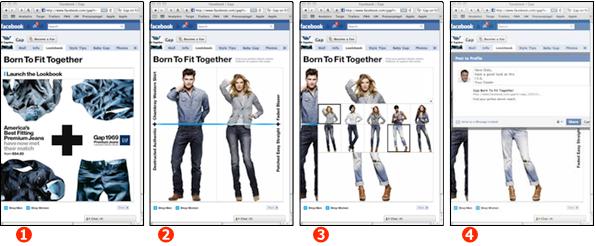 <em>Stil-Mischer Anwendung auf Facebook</em>
