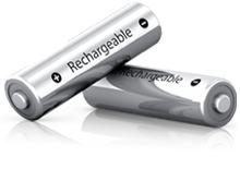 Apple's aufladbare Batterien.
