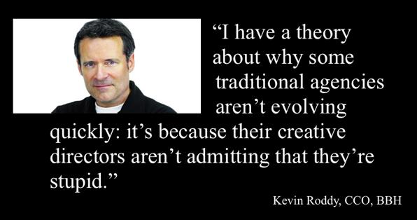 Kevin Roddy, CCO, BBH