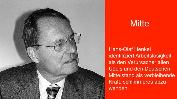 Hans-Olaf Henkel, Kampf um die Mitte