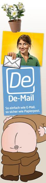 E-Postbrief und De-Mail eine wackelige Angelegenheit