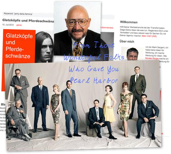 Mad Men, Jerry Della Femina & Co.