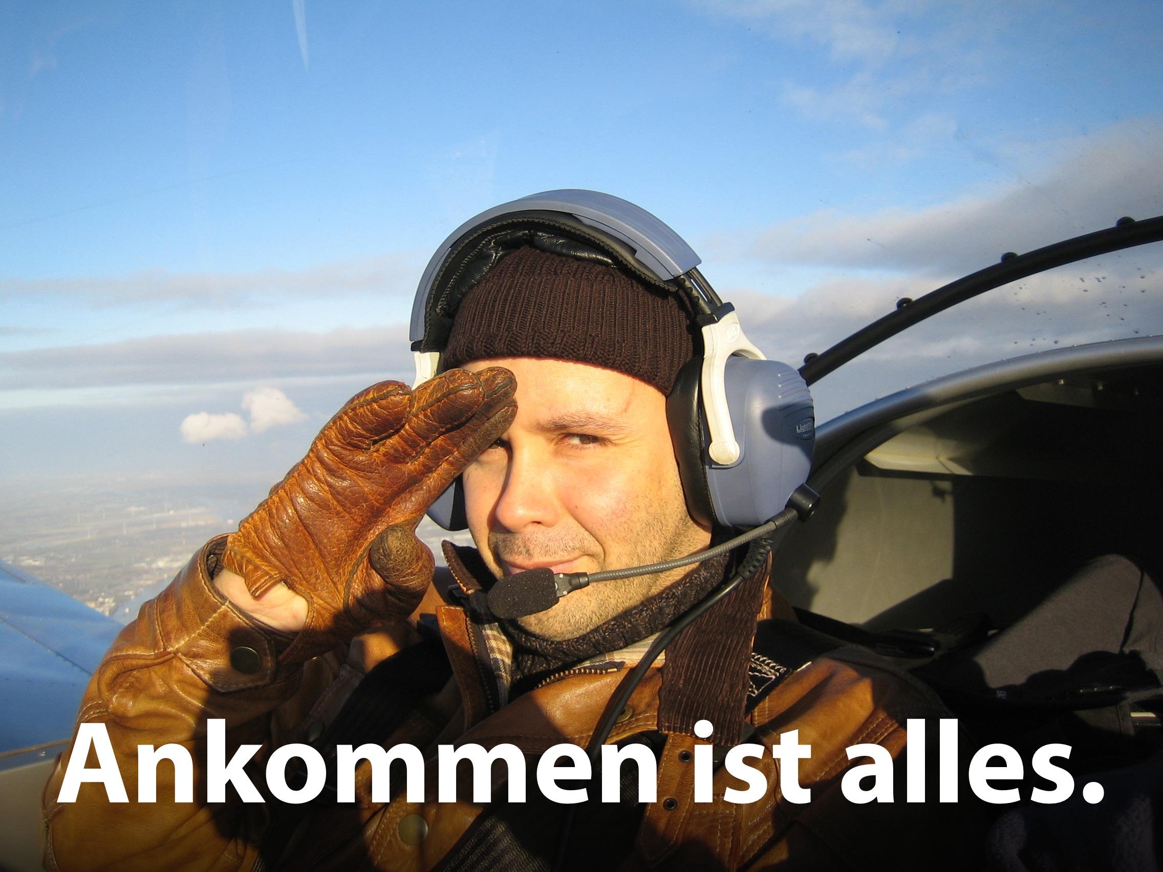 Rolf Jäger: Ankommen ist alles.