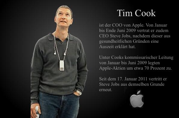 Apple COO Tim Coo