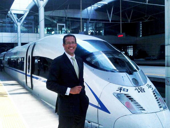 Richard Quest in Beijing, April 14, 2011