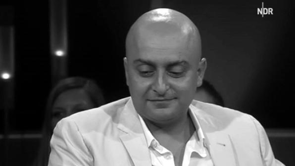 Amir Kassaei in der NDR Talkshow