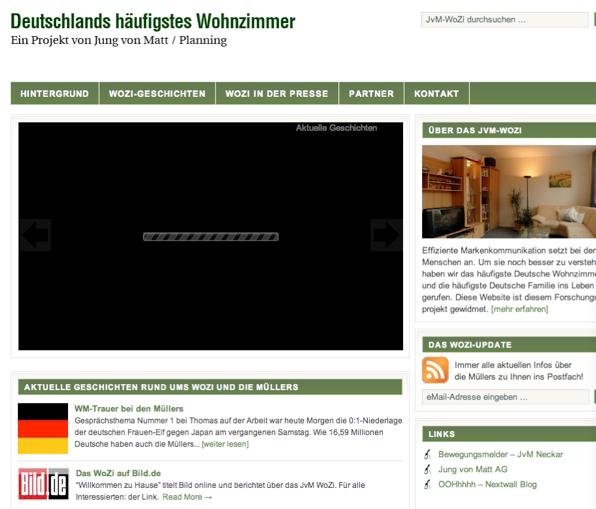 Deutschland's häufigstes Wohnzimmer.